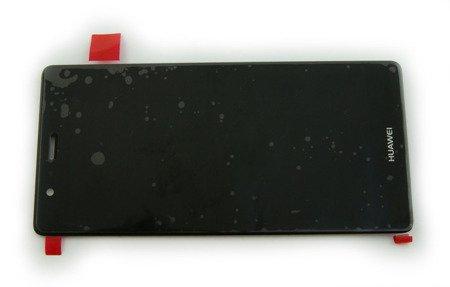Huawei P9 wyświetlacz LCD+digitizer dotyk czarny