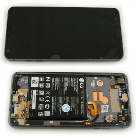 LG G6 H870 Wyświetlacz LCD+digitizer dotyk ramka