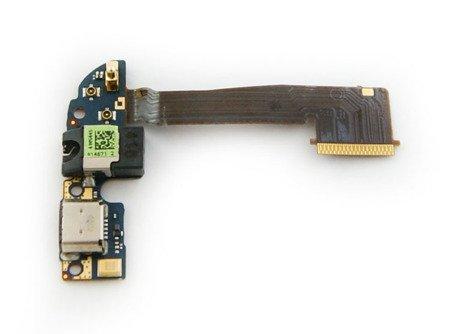 TAŚMA ZŁĄCZE USB HF MIKROFON DO HTC ONE E8 M8