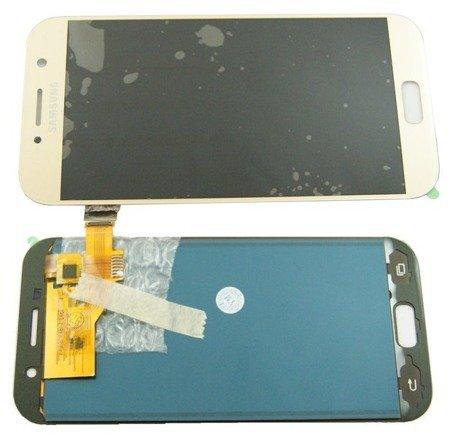 Wyświetlacz LCD+digitizer dotyk Samsung Galaxy A5 2017 SM-A520 złoty