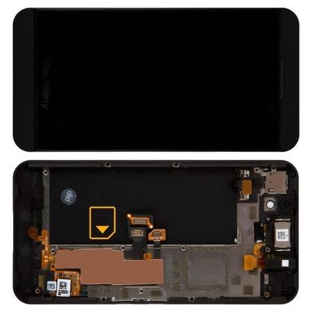 Wyświetlacz LCD+dotyk ramka Blackberry Z10 3G