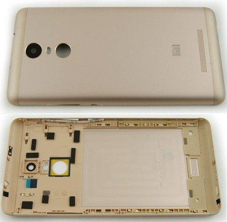 Xiaomi Redmi Note 3 Obudowa Klapka Tył Ramka Oryg!